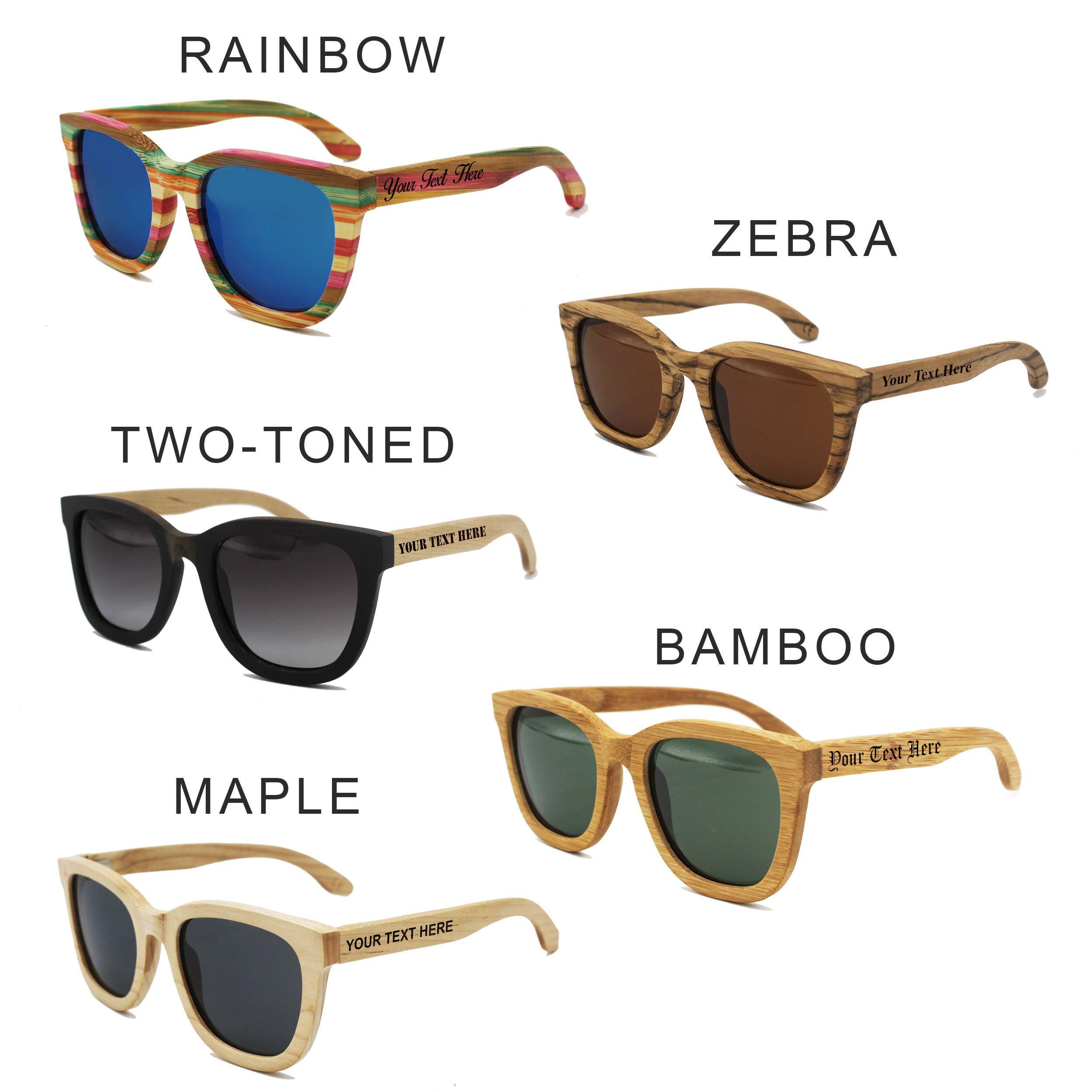 Wedding Party Sunglasses Custom Sunglasses Groomsmen