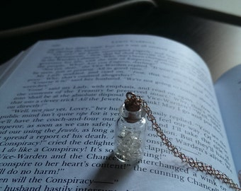 Message In A Bottle - Tiny Bottle Necklace