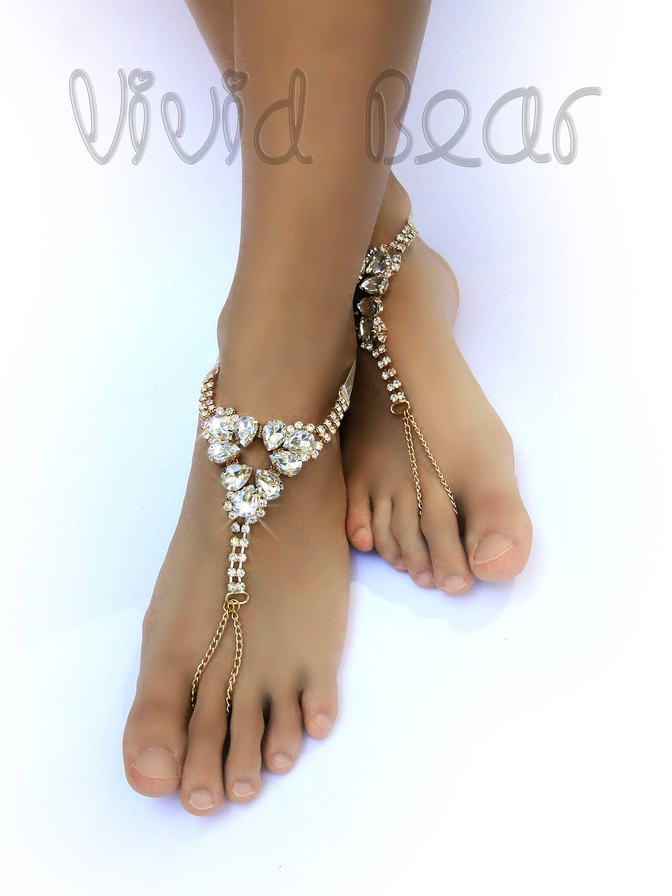barefoot fullxfull sign charm beaded and stretch ocean listing beads peace elastic jewelry anklet beach seed with a il