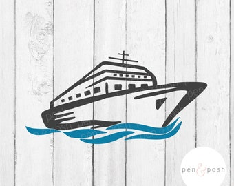 Cruise Ship SVG - Cruise SVG - Boat SVG - Ship Svg - Nautical Svg - Cruise Svg for Shirts - Cruise Svg Cut Files - Cruise Ship Cut File