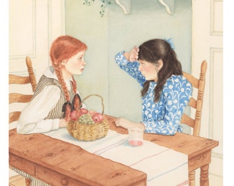 Anne of Green Gables signed giclee print
