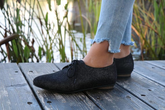 Leather Shoes Women Also HandMade Shoes Black Size Flat Dress Large shoes Twinkle Oxford Shoes designer Shoes Free Shipping Shoes rrIwqF