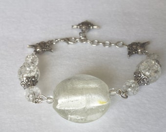 Glass and Angels Bracelet