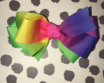 Ombré Handmade Hair Bow
