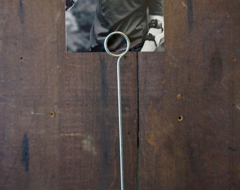 Vintage #2 Pool Ball Photo Picture Holder