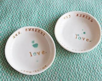 Wedding Bowl - Customised - Love - Wedding - Ceramics