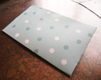 Robins Egg Spots Traveler's Journal 2 Pocket Folder-Field Notes