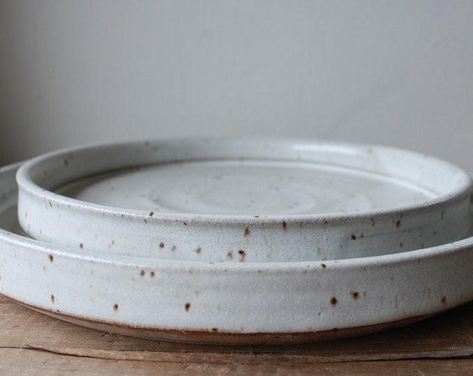 Dinnerware - Plate Set - Dinner Plate - Salad Plate - Handmade - Ceramics u0026 Pottery & KJPottery