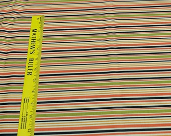 Monster Bash-Stripes Cotton Fabric Designed by Sandy Gervais for Moda Fabrics