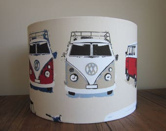 Handmade Lampshade Campervan and Scooter