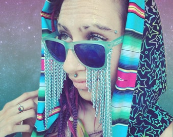 Southwestern Stars Festival Hood with Chain