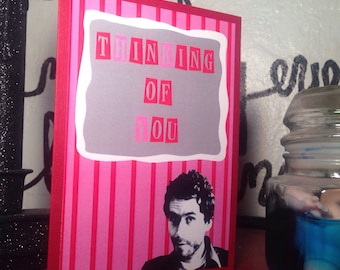 Ted Bundy all occasion love card