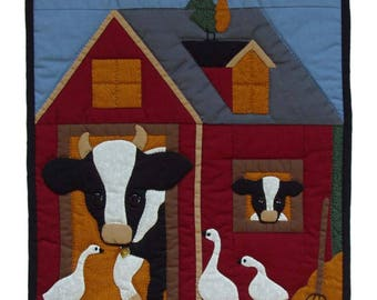 Quilt Kit - Cows Wallhanging Quilt Kit