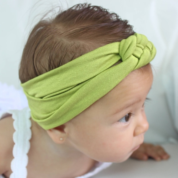 knot headband baby, newborn knot headband, womens knot headband, celtic knot headband, knot headband, turban headband women, green headband