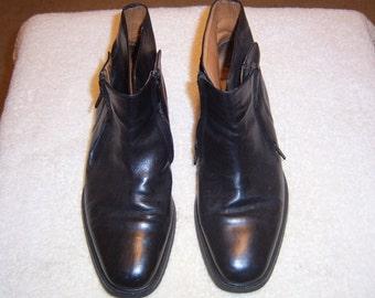 Men's Black Ankle Boots by Mezlan