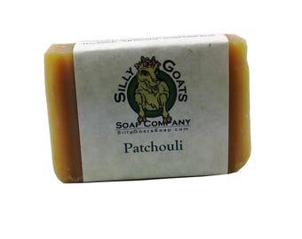 Patchouli Soap, Patchouli Goat Milk Soap, Goat Milk Soap