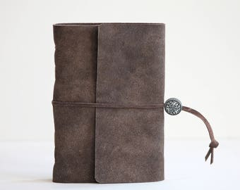Brown leather cover Journal?sketchbook