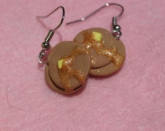 Pancake earrings