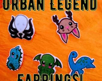 Urban Legend Stud Earrings