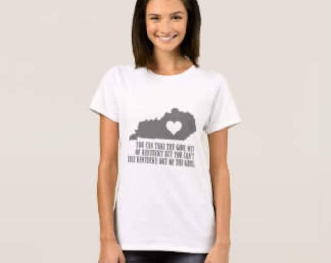 """T-shirt """"Kentucky Girl"""""""