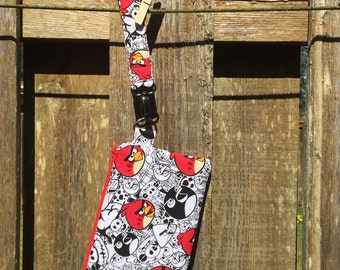 Angry Birds Wristlet on the Go