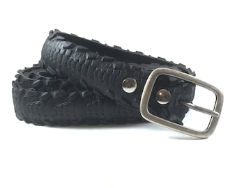 ReCycled Bicycle Tire Belt: Arrow Track