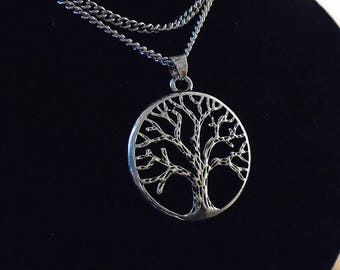 """hi quality Celtic Triskel Tree of Life Pendant 27 """" necklace .925 Silver Plated, KEY WEST GYPSY new with tag"""