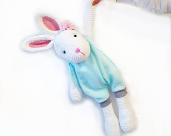 Lilly the Bunny (giant) Amigurumi pattern  pdf download (German, English and French)