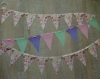 Paper - love and greed Theme Bunting