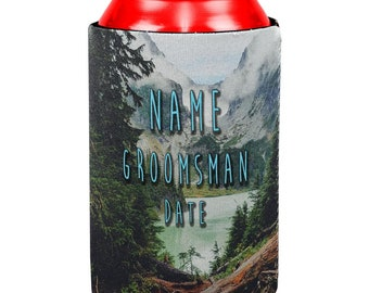 Custom Saturdays Are For The Boys Groomsmen Gifts Date Name Can Cooler