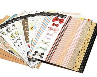Enjoy Creative Stickers Deco Pack / Mini - 14 sheets (4.7 x 6.3in)