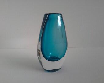 Orrefors Crystal Vase.