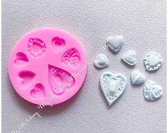Silicone mold for cake & cookie decorating