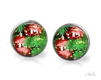 Earrings Christmastree Christmas-10