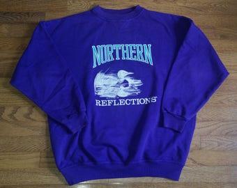 Vintage Mens Northern Reflections sweat shirt