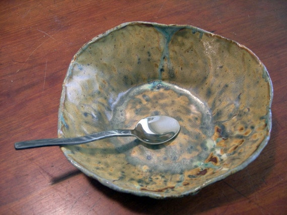 SALE Mudslide Ceramic Bowl