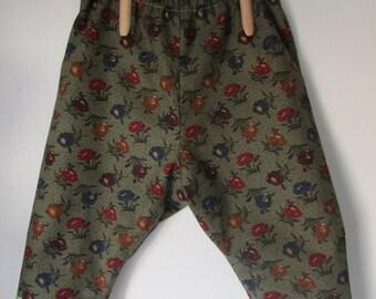 Girls reversible poof pants