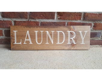 Laundry Sign, Laundry Room Sign, Laundry Room Decor, Wash Day Fold, Laundry