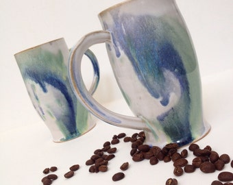 One Ocean colors Stoneware Mug - MADE TO ORDER