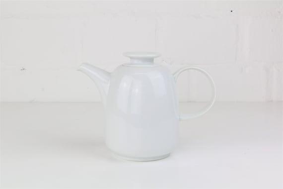 Small white vintage teapot coffee pot from Melitta Germany antique vintage coffee pots tea Pot German pottery