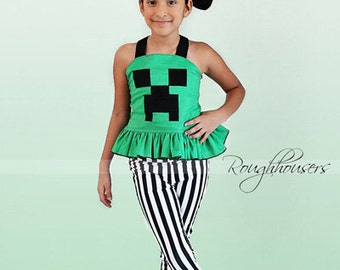 Dawn's Darling Fitted Top PDF Pattern Sizes 7/8 to 15/16 girls