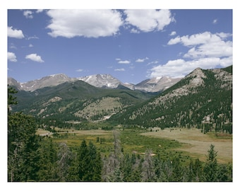Rocky Mountain National Park Pt 2 Art Print