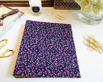 Spring Fling Hardcover Binder and Folder