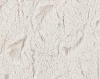Bella Snuggle Sand - Michael Miller Minky - Beige Minky Cream Minky
