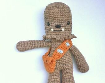 Chewbacca - Crochet pattern/amigurumi
