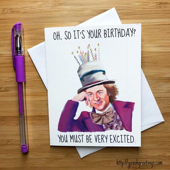 Internet Meme Birthday Card Funny Birthday Card Printable