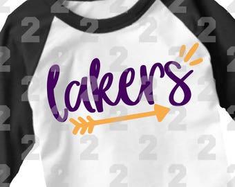 SVG, DXF, EPS Cut file, Lakers svg, arrows svg, svg files, shorthandlemons, SvG Sayings, football svg, basketball svg, mom svg, lakers
