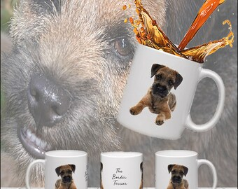 Border Terrier Puppy Mug