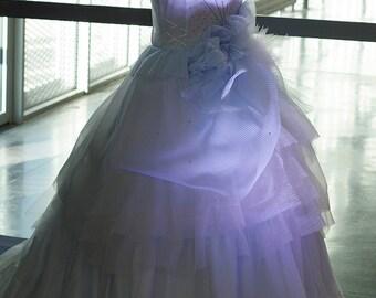 Robe de mariée princesse pièce unique - modèle Nigelle