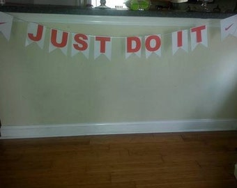 Just Do It Swoosh Banner